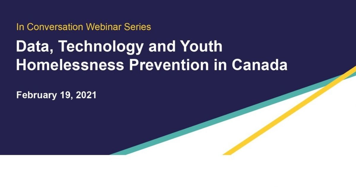 Data Technology Youth Homelessness Prevention